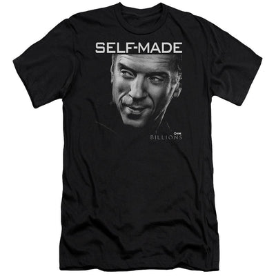 Billions Self Made Men's Slim Fit T-Shirt