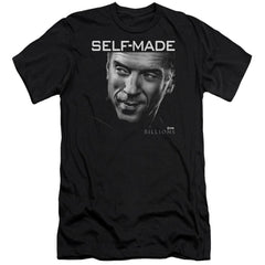 Billions Self Made Adult Slim Fit T-Shirt