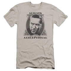 Billions Axeceptional Premium Adult Slim Fit T-Shirt