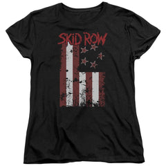 Skid Row - Flagged Women's T-Shirt