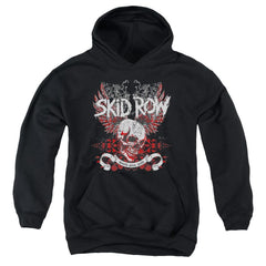 Skid Row - Winged Skull Youth Hoodie