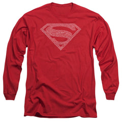 Dc Robin Logo Adult Long Sleeve T-Shirt