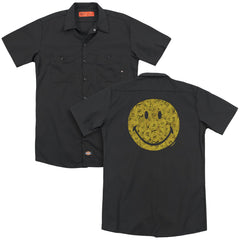 Smiley World Rosey Face Adult Work Shirt