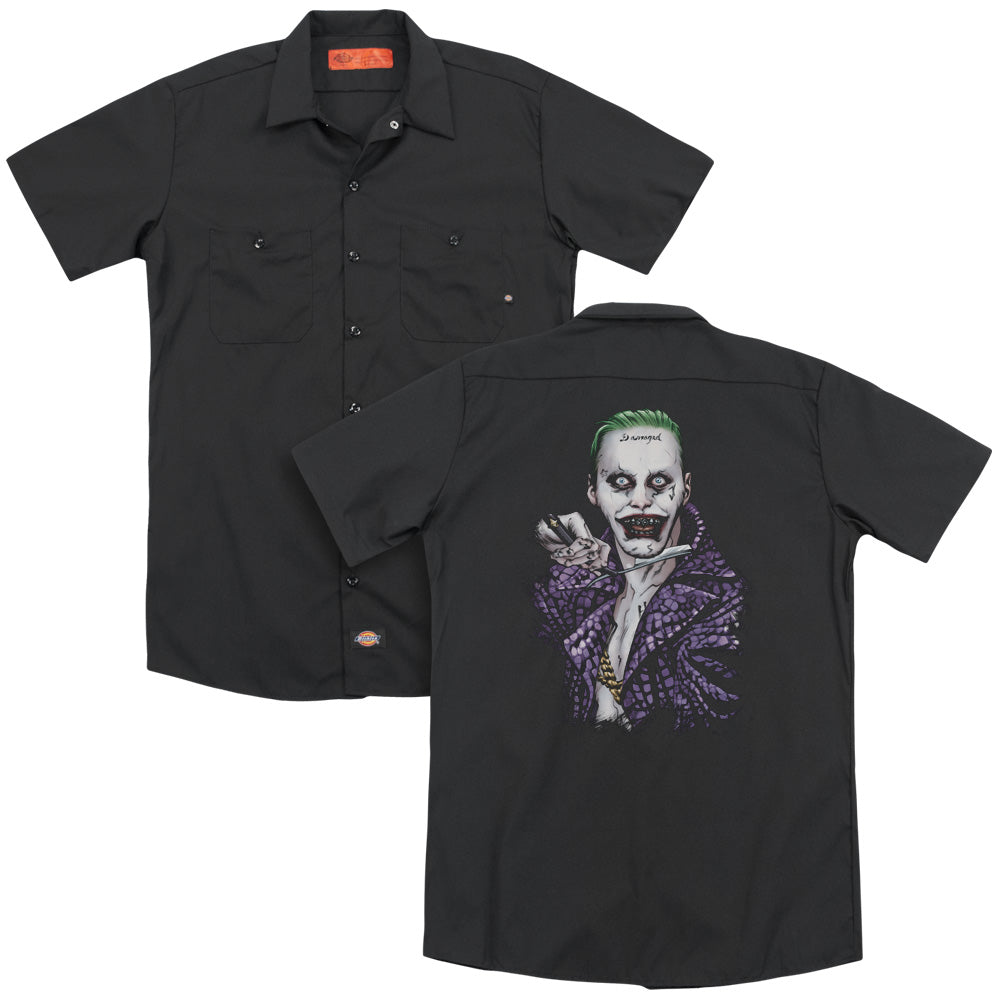 Suicide Squad - Blade Adult Work Shirt