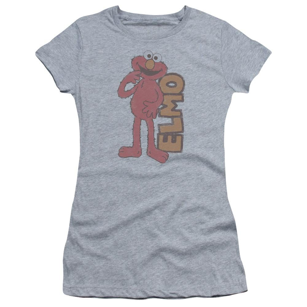 b95b0eb67 Sesame Street Vintage Elmo Juniors T-Shirt - Sons of Gotham
