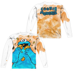 Sesame Street - Cookie Crumbs  Adult Long Sleeve T-Shirt