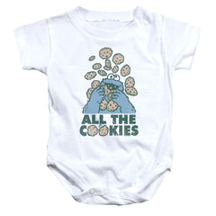 Sesame Street - All The Cookies Baby Onesie