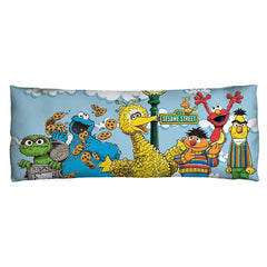 Sesame Street - Retro Gang Body Pillow