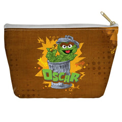 Sesame Street - Oscar Tapered Bottom Pouch