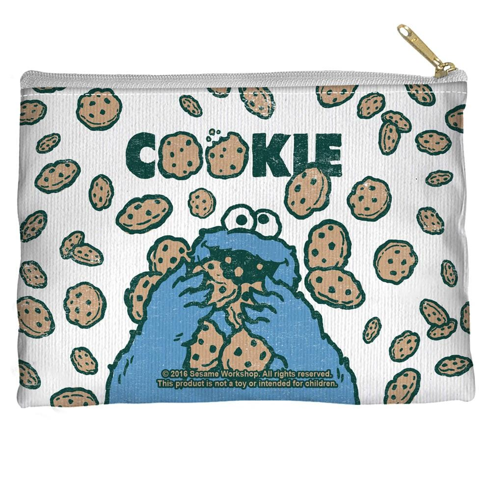 Sesame Street - Cookie Crumble Straight Bottom Pouch