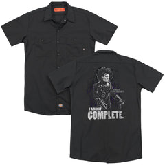 Edward Scissorhands Not Complete Adult Work Shirt