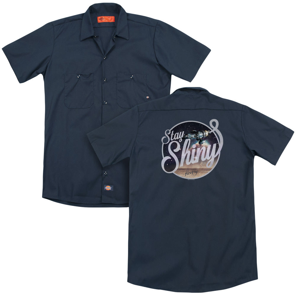 Firefly - Stay Shiny Adult Work Shirt