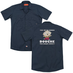 Family Guy - Douche The Night Away Adult Work Shirt
