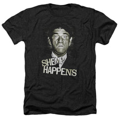 Three Stooges Shemp Happens Adult Regular Fit Heather T-Shirt