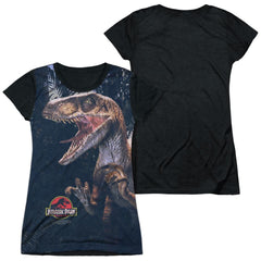 Jurassic Park - Raptors Junior All Over Print 100% Poly T-Shirt