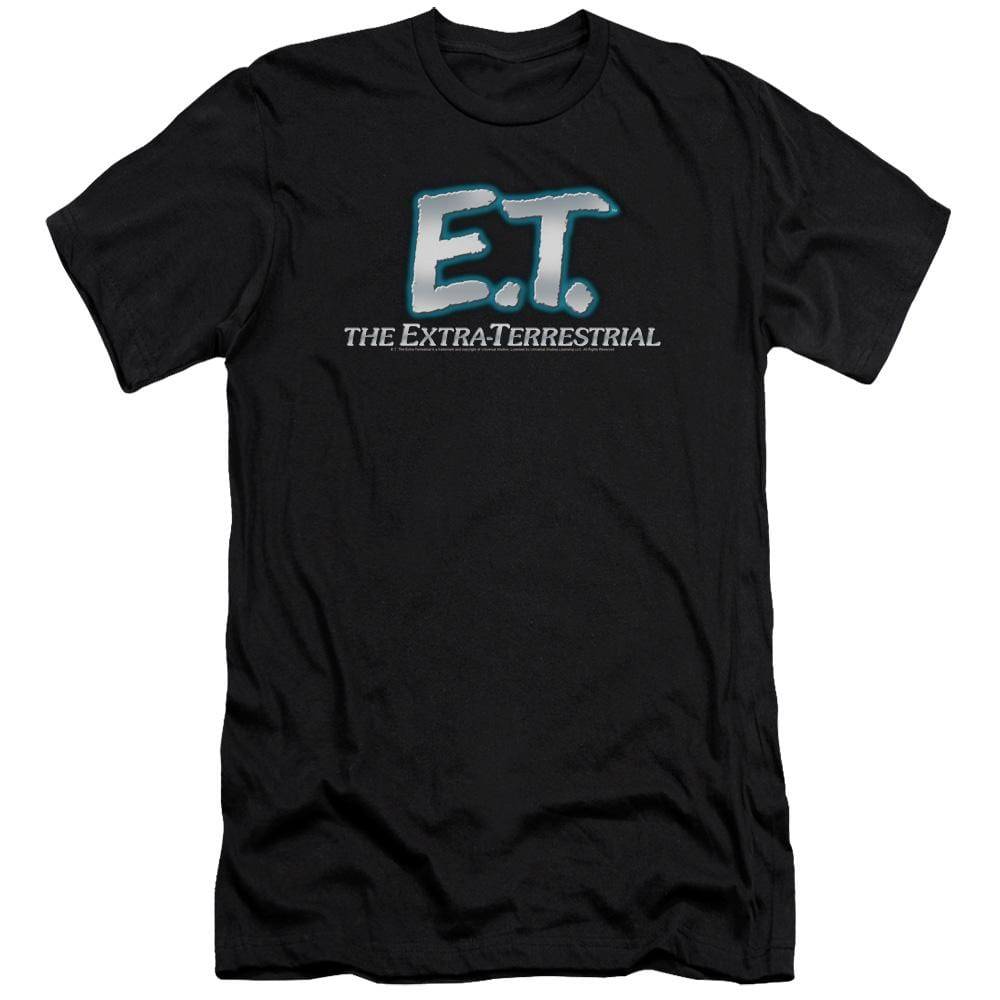 Et Logo Premium Adult Slim Fit T-Shirt