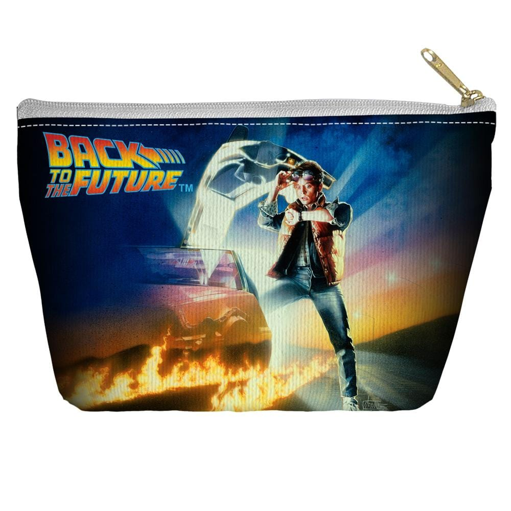 Back To The Future - Bttf Poster Tapered Bottom Pouch