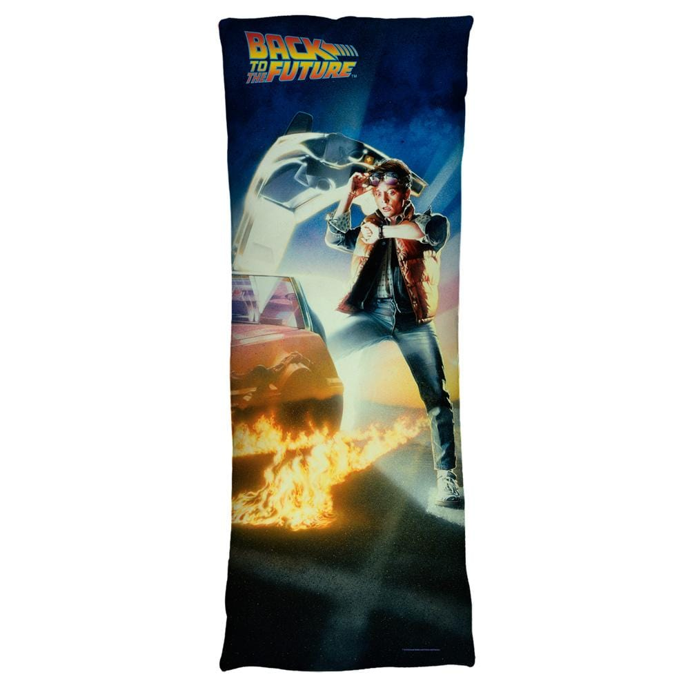 Back To The Future - Bttf Poster Body Pillow