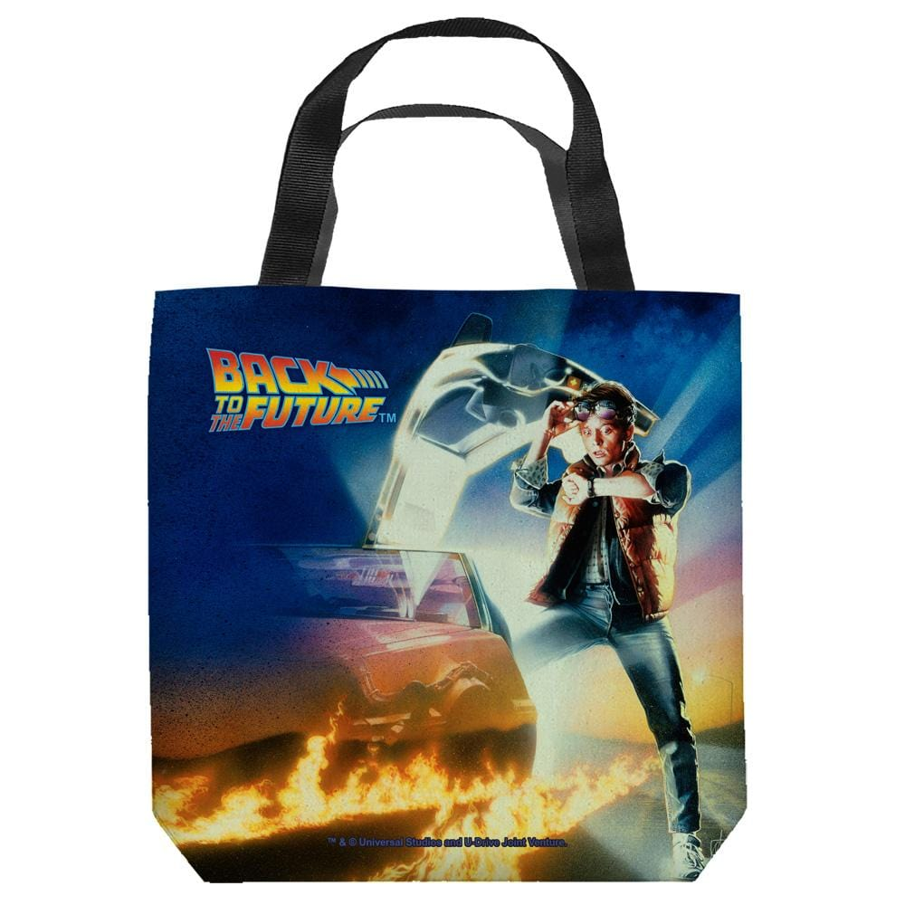 Back To The Future - Bttf Poster Tote Bag