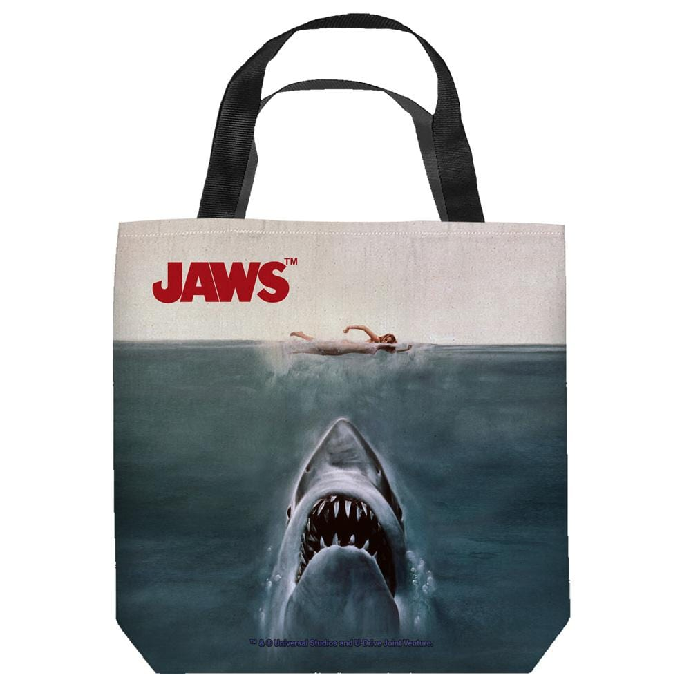 Jaws - Jaws Poster Tote Bag