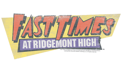 Fast Times at Ridgemont High Distressed Logo Women's T-Shirt