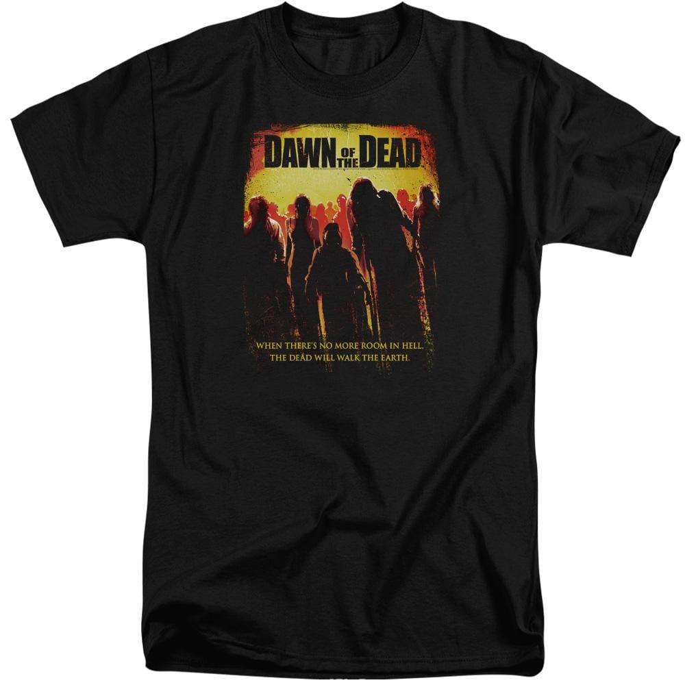 Dawn Of The Dead Title Adult Tri-Blend T-Shirt