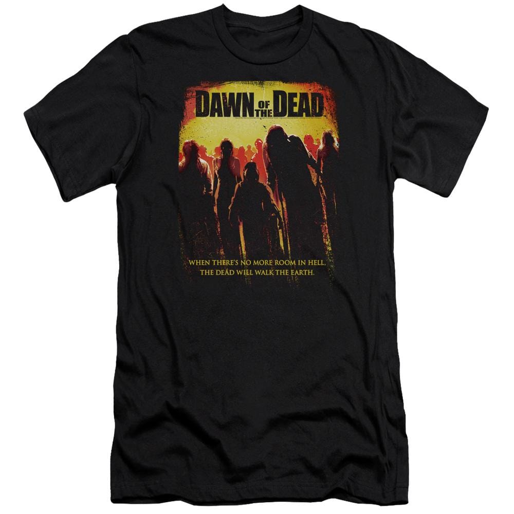 Dawn Of The Dead Title Premium Adult Slim Fit T-Shirt