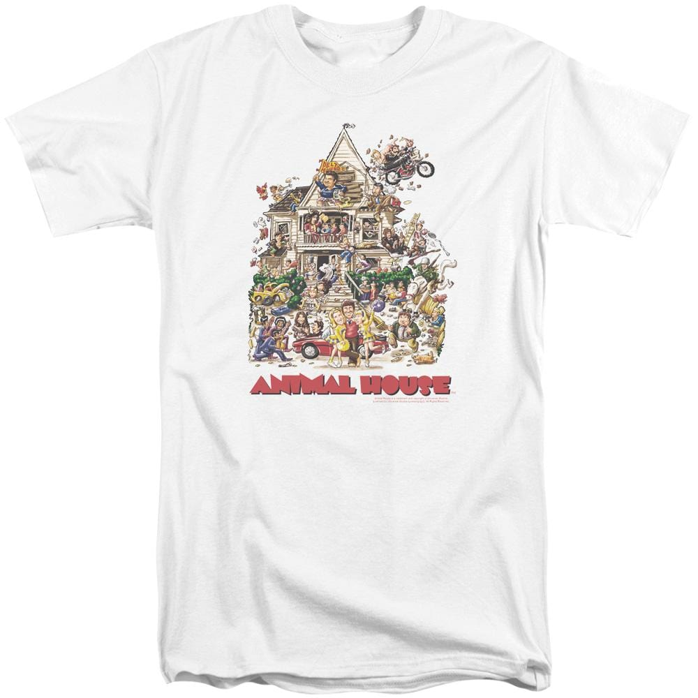 Animal House Poster Art Adult Tall Fit T-Shirt