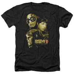 Hellboy Ii Ungodly Creatures Adult Regular Fit Heather T-Shirt