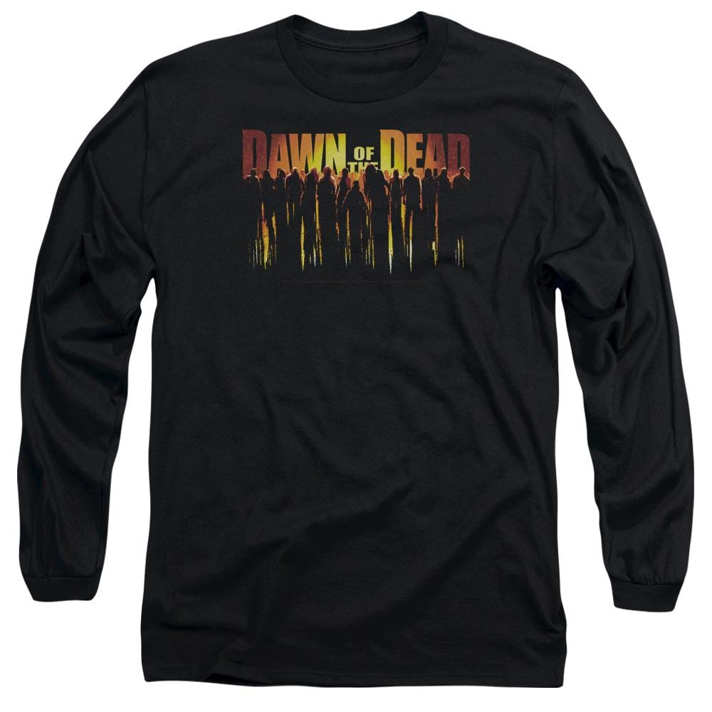 Dawn Of The Dead - Walking Dead Adult Long Sleeve T-Shirt