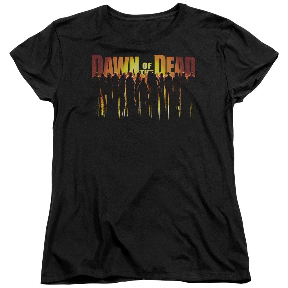 Dawn Of The Dead - Walking Dead Women's T-Shirt