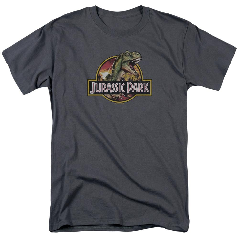 Jurassic Park Retro Rex Adult Regular Fit T-Shirt