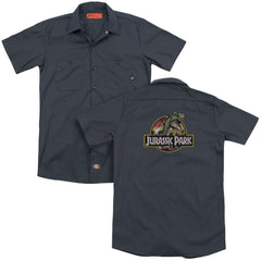 Jurassic Park Retro Rex Adult Work Shirt