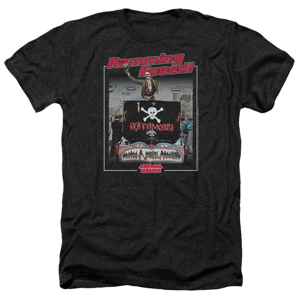 Animal House Ramming Speed Adult Regular Fit Heather T-Shirt