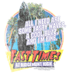 Fast Times at Ridgemont High Tasty Waves Men's Long Sleeve T-Shirt