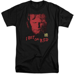 Hellboy Ii I Bet On Red Adult Tall Fit T-Shirt