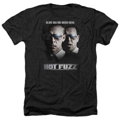 Hot Fuzz Big Cops Adult Regular Fit Heather T-Shirt