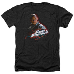 Fast And The Furious Toretto Adult Regular Fit Heather T-Shirt