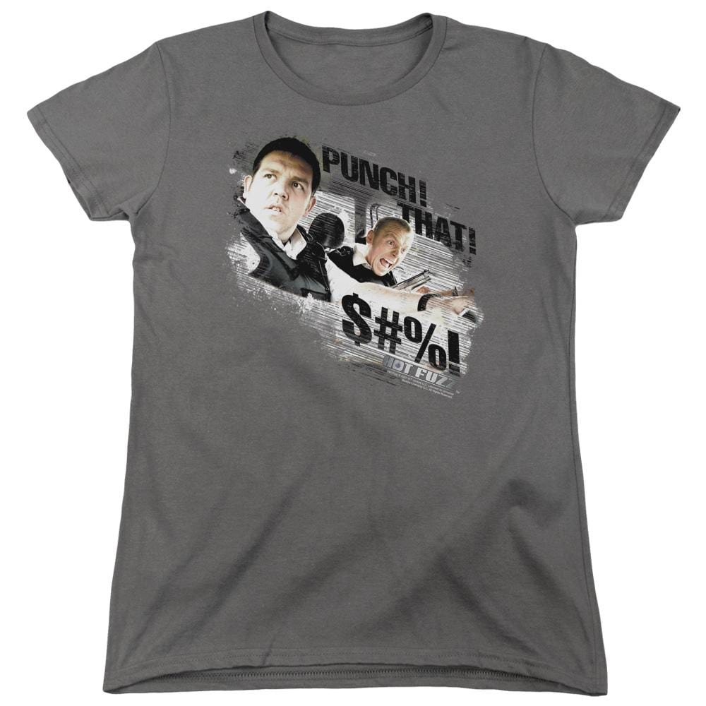 Hot Fuzz - Punch That Women's T-Shirt