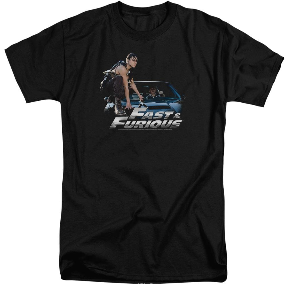 Fast And The Furious Car Ride Adult Tri-Blend T-Shirt
