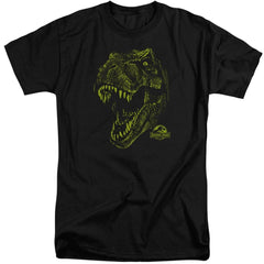 Jurassic Park Rex Mount Adult Tri-Blend T-Shirt
