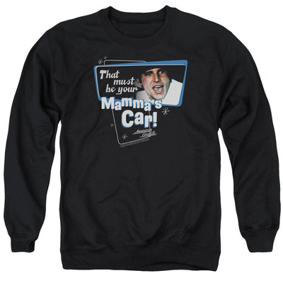 American Graffiti Mammas Car Men's Crewneck Sweatshirt