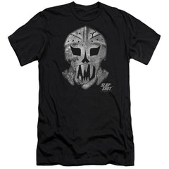 Slap Shot Goalie Mask Premium Adult Slim Fit T-Shirt