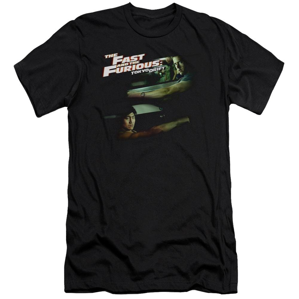 Tokyo Drift Drifting Together Premium Adult Slim Fit T-Shirt