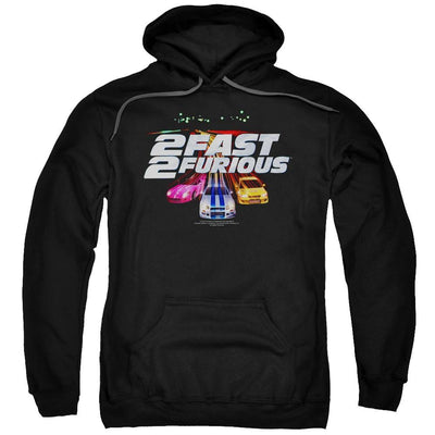 Fast and Furious Logo Pullover Hoodie