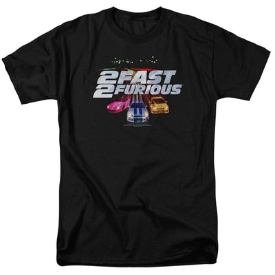 Fast and Furious Logo Men's Regular Fit T-Shirt
