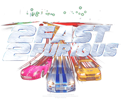 Fast and Furious Logo Juniors T-Shirt