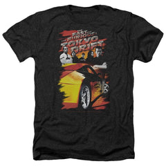 Tokyo Drift Drifting Crew Adult Regular Fit Heather T-Shirt