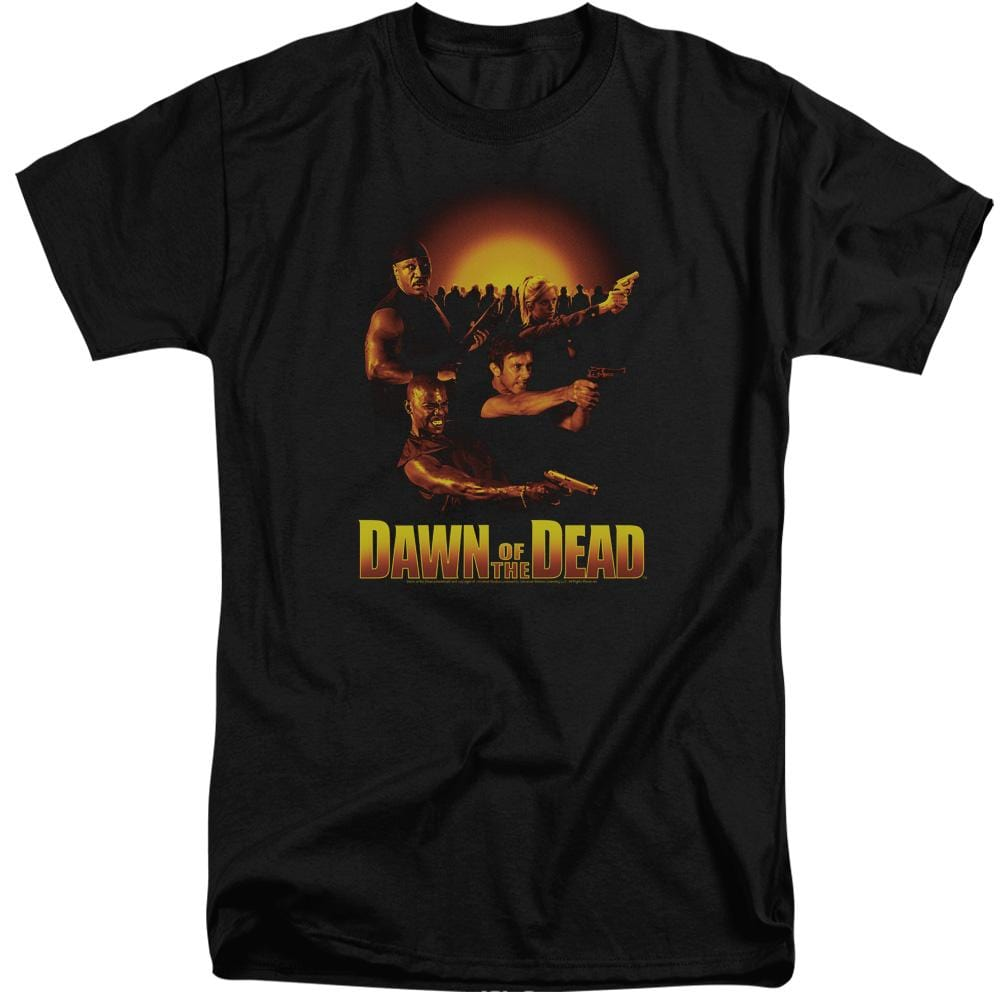 Dawn Of The Dead Dawn Collage Adult Tall Fit T-Shirt
