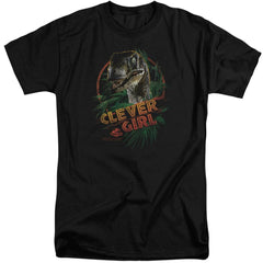 Jurassic Park Clever Girl Adult Tri-Blend T-Shirt